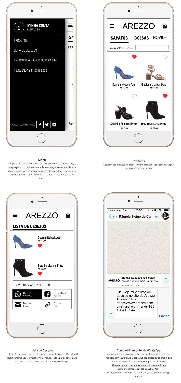AREZZO - App de Compras